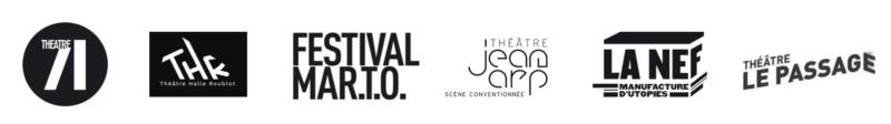 Logos des partenaires du spectacle